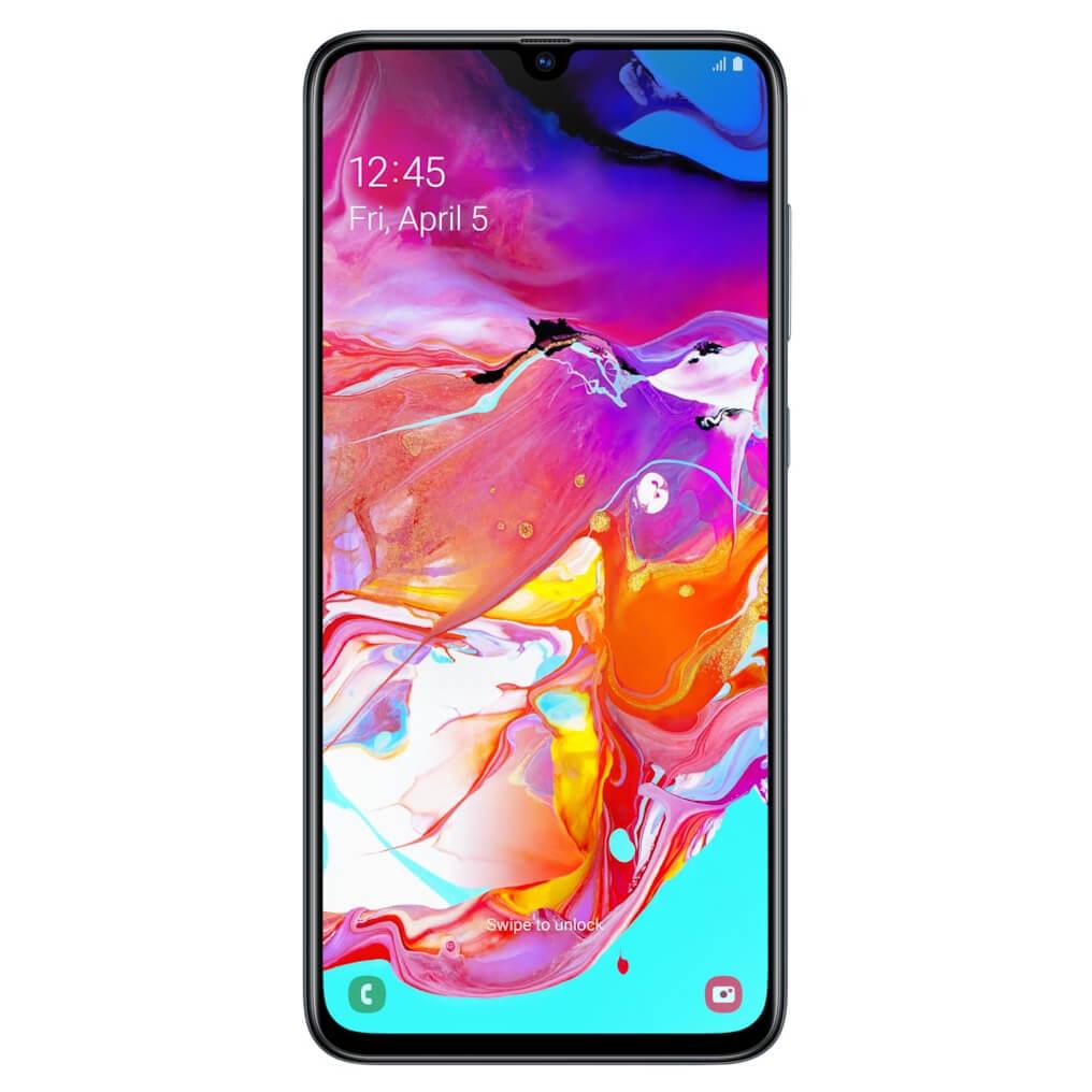 Samsung Galaxy A70 (128GB) (BLACK) | MySoftlogic lk